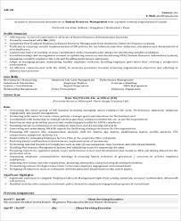 Project Manager Resume Examples by Sample Hr Manager Resume 9 Examples In Word Pdf