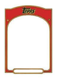 printable baseball card template baseball card templates free blank printable customize