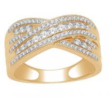 yellow gold wedding rings 9ct half carat diamond yellow gold wedding band diamond rings nz