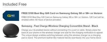 who buys gift cards back samsung galaxy s8 and s8 100 best buy gift card wireless stand