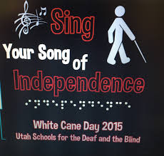 Utah Schools For The Deaf And The Blind The Independent Little Bee White Cane Day 2015