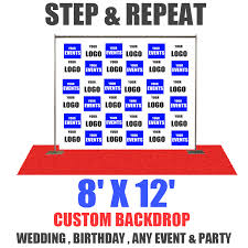 wedding backdrop banner 8x12 step and repeat banner eventbackdropbanner
