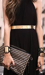 accessorize black dresses tips