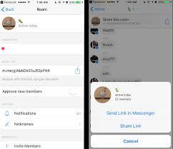 facebook messenger u0027s source code reveals hidden rooms feature