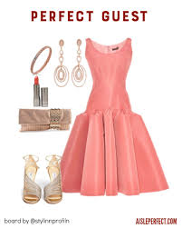 coral dresses for wedding guests chic blush wedding guest bridalpulse