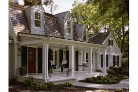 Front Porches On Colonial Homes by Custom Vacation Homes Dutch Colonial Shingle Style