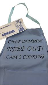 Personalized Aprons For Women Amazon Com Chefskin Personalized Adults Apron Lightweight Choose