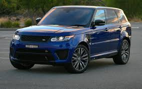 range rover svr range rover sport svr 2016 review loaded 4x4