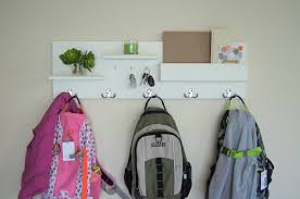 entryway backpack storage entryway hooks and storage home design ideas and pictures
