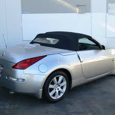 nissan 350z near me nissan 350z convertible top 04 09 in blue stayfast cloth with