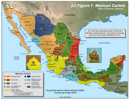 map of the mexico visualizing mexico s cartels a roundup of maps storybench