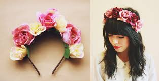 flower headbands diy statement flower headband sewing and crafts flowers