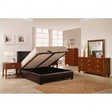 Storage Platform Bed Frame Chocolate by Lucca Storage Bed Foter