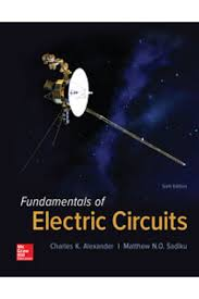 solution manual for fundamentals of electric circuits 6th edition