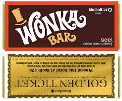 wonka bars where to buy willy wonka inspired promotional candy bar wrappers