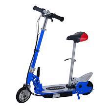trottinette electrique avec siege homcom trottinette patinette électrique pliable plus de 8 ans 120w