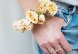 flower bracelet diy images Diy fresh flower bracelet a pair a spare jpg