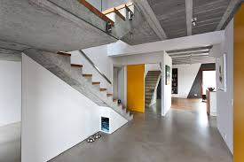 concrete block homes block home with polished concrete floor