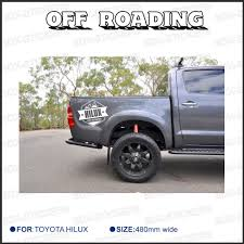 toyota car detailing aliexpress com buy 2 pc free shipping rear sticker hilux off