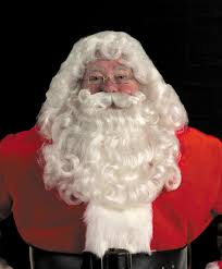 santa beard professional sant claus wig and beard sets as well as mrs claus wigs