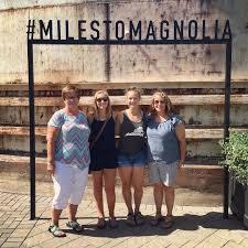 a magnolia girls trip becoming emma