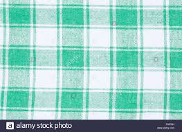 checkered green and white kitchen towel background texture stock
