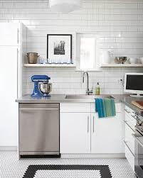 modern kitchen tile 15 kitchens with stainless steel countertops
