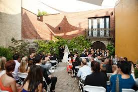 artesano iron works wedding artesano gallery courtyard
