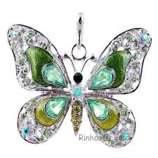 long butterfly necklace images Beautiful rhinestone long butterfly necklace jpg