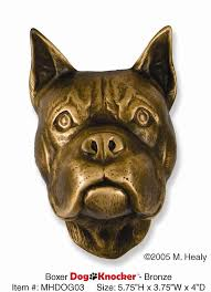 100 boxer dog michael healy designs decorative boxer dog door knocker