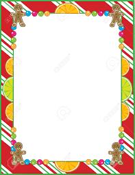 best christmas cookie border 22835 clipartion com