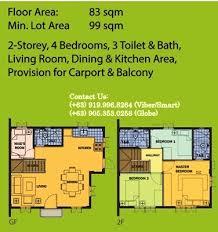 Camella Homes Drina Floor Plan Drina House Camella U2013 Cavite Camella House