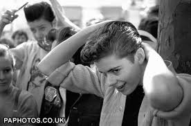 teddy boy hairstyle teddy boys the style of 1950s started in british text by