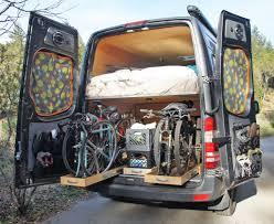 sprinter van conversion floor plans sprinter rv the adventuremobile sprinter hits the road bike