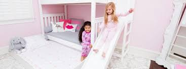 Bunk Bed With Slide Add A Slide To Your High Bunk Bed With The Poof Maxtrix