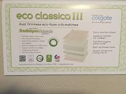 Colgate Classica Iii Foam Crib Mattress Colgate Eco Classica Iii Dual Firmness Foam Review The Sleep Judge