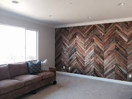 wooden wall designs herringbone reclaimed wood wall home decor pinterest wood