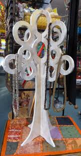 funky stuff tree of life home decor large necklace stand show