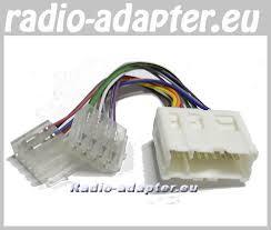 nissan x trail 2001 2004 car radio wire harness wiring iso lead