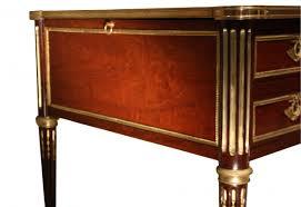 bureau style louis xvi 18th century louis xvi mahogany bureau plat sted g dester ref