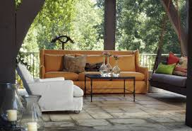 dwell home furnishings interior design outdoor furniture uncovered lotus outdoor sofa and uncovered cabo outdoor chair