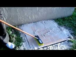 installing paver pad for trash can youtube