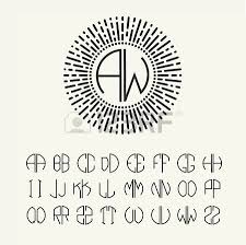 Monogramed Letters 30 676 Monogram Letters Stock Illustrations Cliparts And Royalty