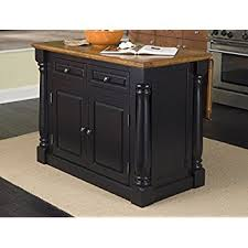 monarch kitchen island amazon com home styles 5008 94 monarch kitchen island black and