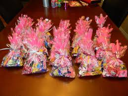 princess candy bags birthday party goodie bags