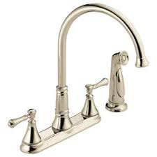 polished nickel kitchen faucets polished nickel kitchen faucet ebay