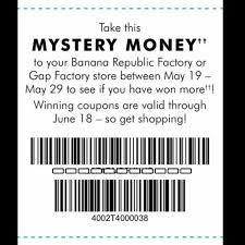 banana republic black friday coupon gap factory u0026 banana republic factory mystery money instant win game