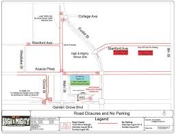 The High Line Map Heavier Traffic Road Closures During Upcoming 2 Day Music