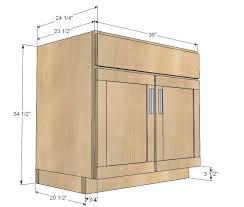 easy building a kitchen cabinet also home decor interior design