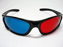 professional plastic frame 3d glasses anaglyph glasses co
